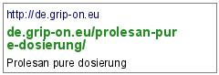 http://de.grip-on.eu/prolesan-pure-dosierung/